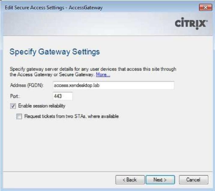 How to configure Citrix Netscaler Access Gateway VPX - Virtual Bit