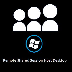 Remote Shared Session Host Desktop